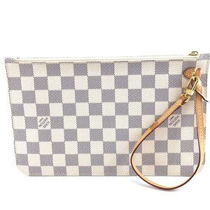 Louis Vuitton Neverfull Pochette XL Wristlet
